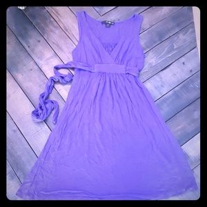 Gorgeous Purple Cotton Dress ☀️ Open to Offers! ☀️
